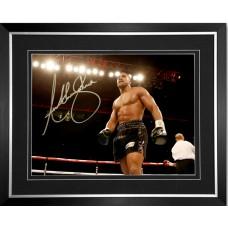 Anthony Joshua Signed & Framed Photo