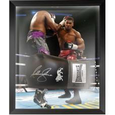 Anthony Joshua Signed & Framed Boxing Glove