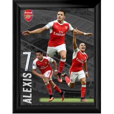 Alexis Sanchez Framed Arsenal Montage