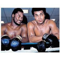 Muhammad Ali & Joe Frazier Gouache Print