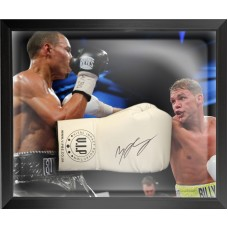 Billy Joe Saunders Signed & Framed Boxing Glove