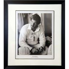 Ian Botham Signed & Framed Photo