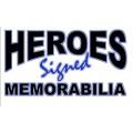 Heroes Signed Memorabilia