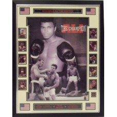 Muhammad Ali 3D Framed Career Montage