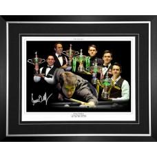 Ronnie O'Sullivan Signed & Framed Photo