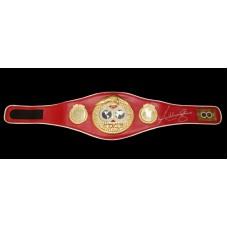 Anthony Joshua Signed Replica Full Size IBF Boxing Belt