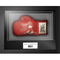 Muhammad Ali 'Rare' Signed & Framed Everlast Boxing Glove (Online Authentics COA)
