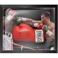 Gennady Golovkin Signed & Framed Boxing Glove