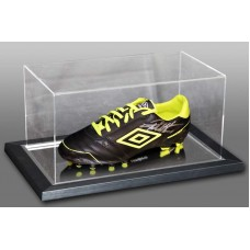 Geoff Hurst Signed Football Boot in an Acrylic Case England 1966