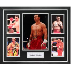 Wladimir Klitschko Signed & Framed Photo Montage