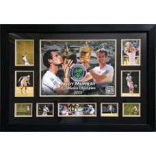 Andy Murray Signed & Framed Photo Montage