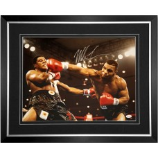 Mike Tyson Signed & Framed 'TB' Photo
